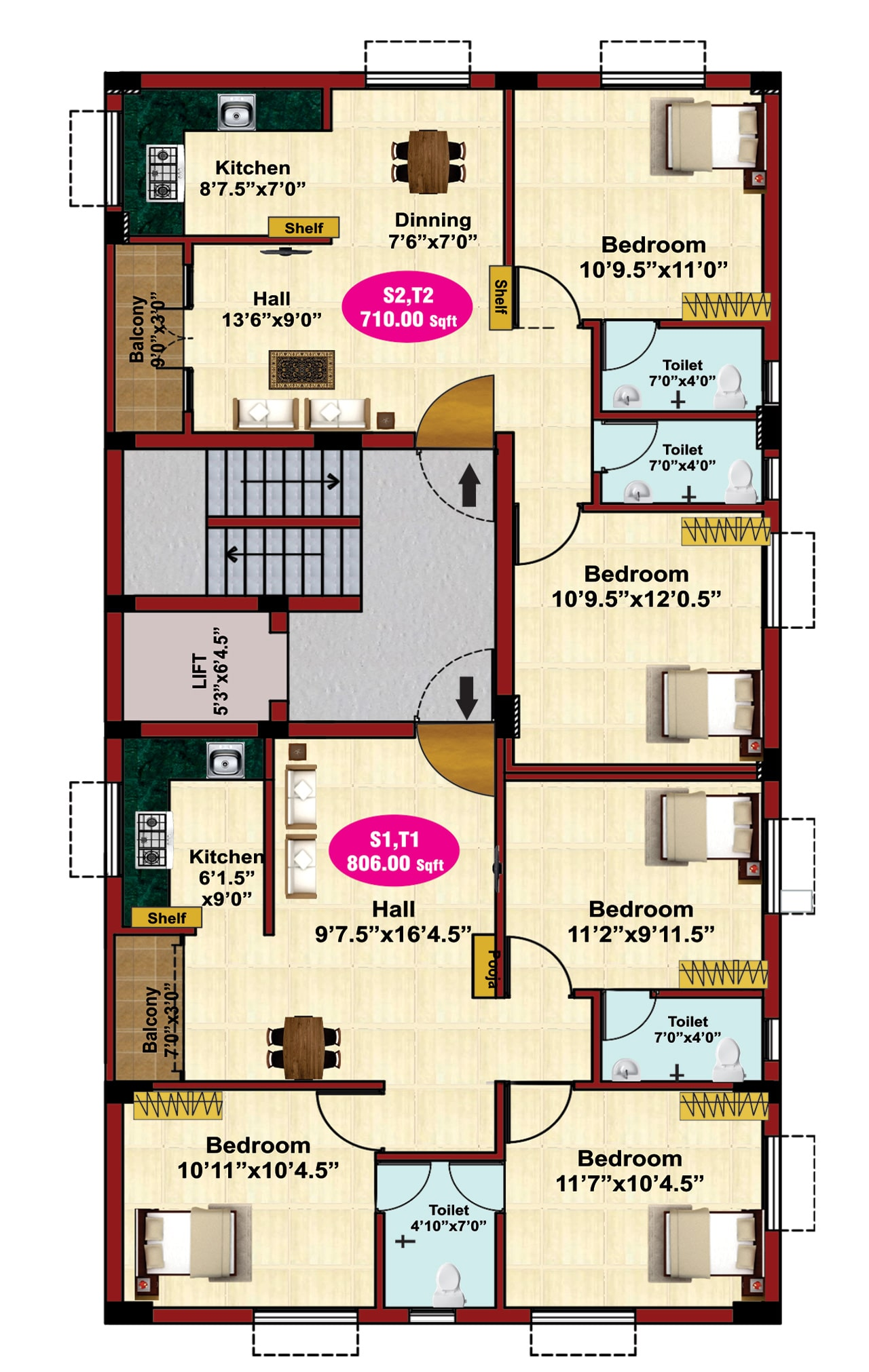 jkb-sri-dwaraka-2nd-3rd-floor-plan3